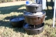 Stacked Dutch Ovens