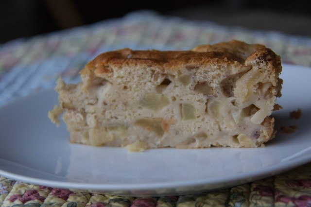 A Slice of Spiced Apple Cake