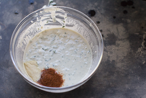 Savory Spicy Buttermilk Pancake Batter